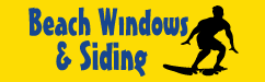Beach Windows – Window and Siding Company Logo